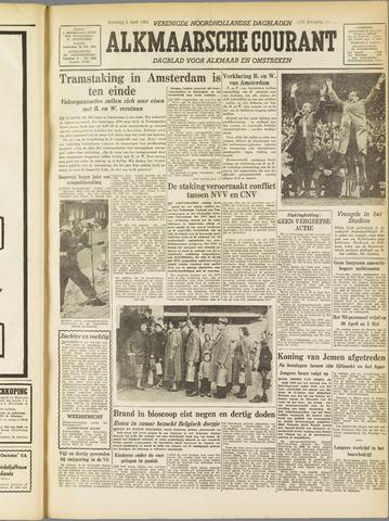 Alkmaarsche Courant 1955-04-04