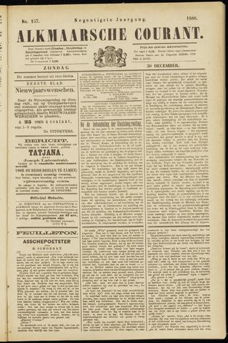 Alkmaarsche Courant 1888-12-30