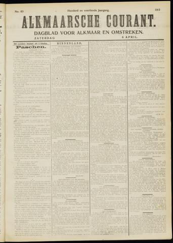 Alkmaarsche Courant 1912-04-06