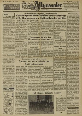 De Vrije Alkmaarder 1949-08-15