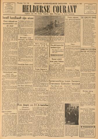 Heldersche Courant 1948-07-07