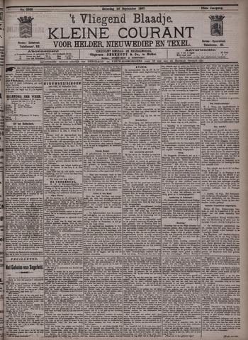 Vliegend blaadje : nieuws- en advertentiebode voor Den Helder 1897-09-25