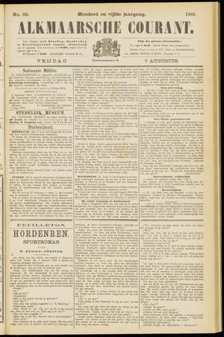Alkmaarsche Courant 1903-08-07