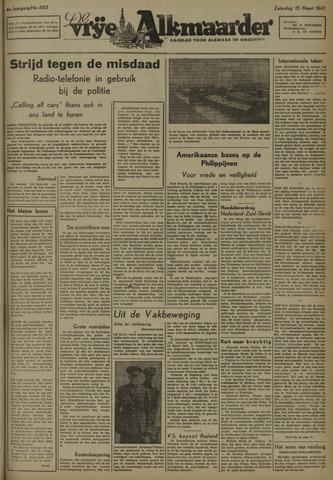 De Vrije Alkmaarder 1947-03-15
