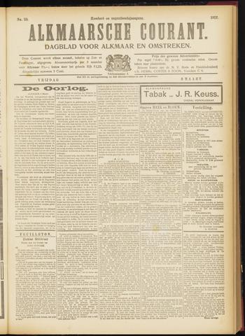 Alkmaarsche Courant 1917-03-09