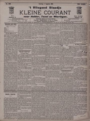 Vliegend blaadje : nieuws- en advertentiebode voor Den Helder 1900-08-11