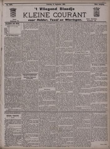 Vliegend blaadje : nieuws- en advertentiebode voor Den Helder 1900-09-15