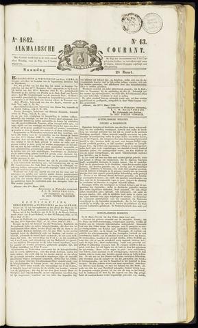 Alkmaarsche Courant 1842-03-28