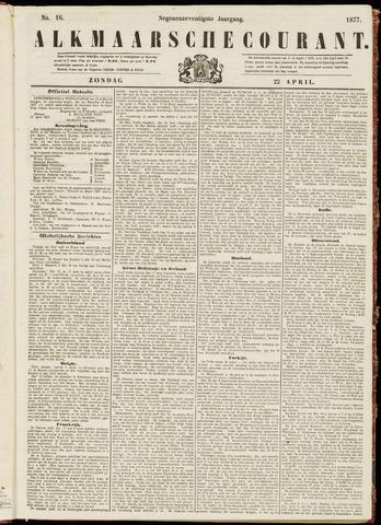 Alkmaarsche Courant 1877-04-22