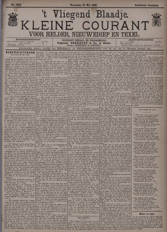 Vliegend blaadje : nieuws- en advertentiebode voor Den Helder 1890-05-28