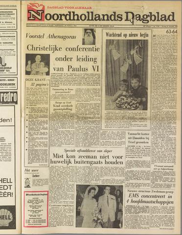 Noordhollands Dagblad : dagblad voor Alkmaar en omgeving 1963-12-31