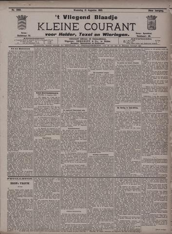Vliegend blaadje : nieuws- en advertentiebode voor Den Helder 1900-08-15
