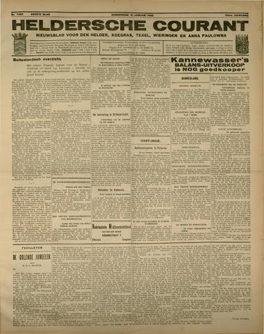 Heldersche Courant 1932-01-21