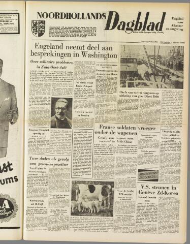 Noordhollands Dagblad : dagblad voor Alkmaar en omgeving 1954-05-29