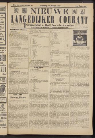 Nieuwe Langedijker Courant 1927-03-22