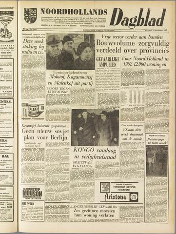 Noordhollands Dagblad : dagblad voor Alkmaar en omgeving 1961-11-13