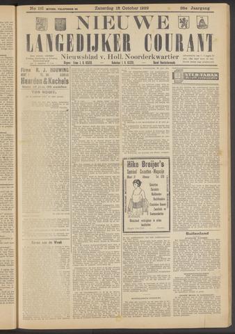 Nieuwe Langedijker Courant 1929-10-12