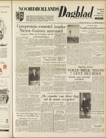 Noordhollands Dagblad : dagblad voor Alkmaar en omgeving 1954-12-01