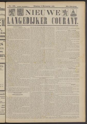 Nieuwe Langedijker Courant 1921-11-08