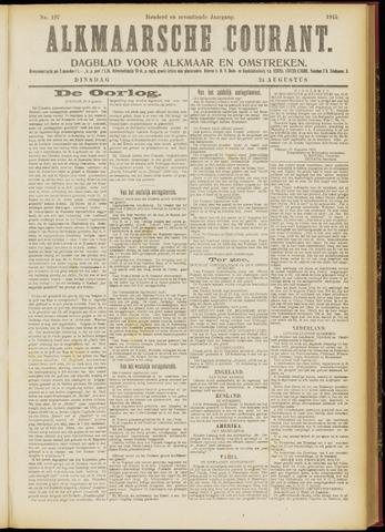 Alkmaarsche Courant 1915-08-24