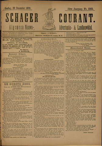 Schager Courant 1889-12-29