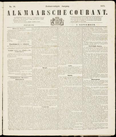Alkmaarsche Courant 1874-09-06
