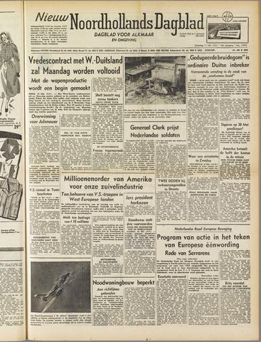 Nieuw Noordhollandsch Dagblad : voor Alkmaar en omgeving 1952-05-17