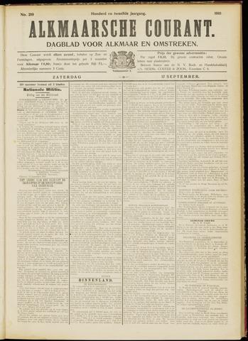Alkmaarsche Courant 1910-09-17
