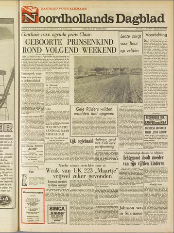 Noordhollands Dagblad : dagblad voor Alkmaar en omgeving 1967-04-15