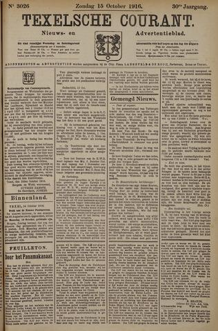 Texelsche Courant 1916-10-15