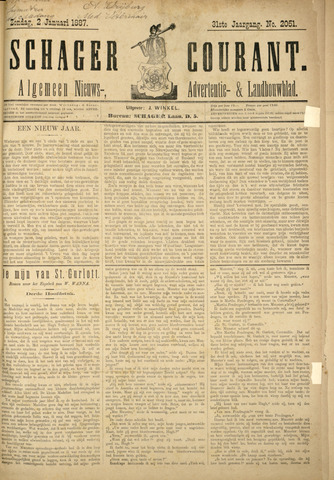 Schager Courant 1887