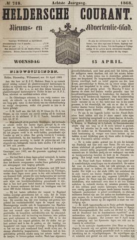 Heldersche Courant 1868-04-15