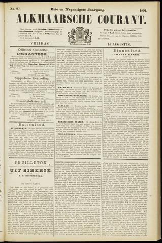 Alkmaarsche Courant 1891-08-14