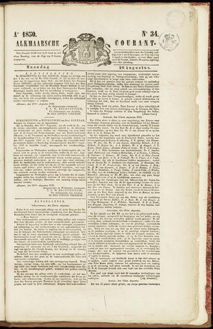 Alkmaarsche Courant 1850-08-26