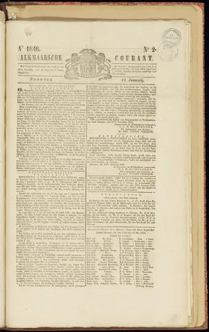 Alkmaarsche Courant 1846-01-12