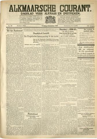 Alkmaarsche Courant 1933-12-01