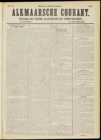 Alkmaarsche Courant 1912-09-14
