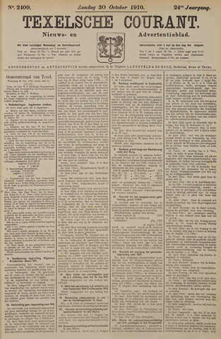 Texelsche Courant 1910-10-30