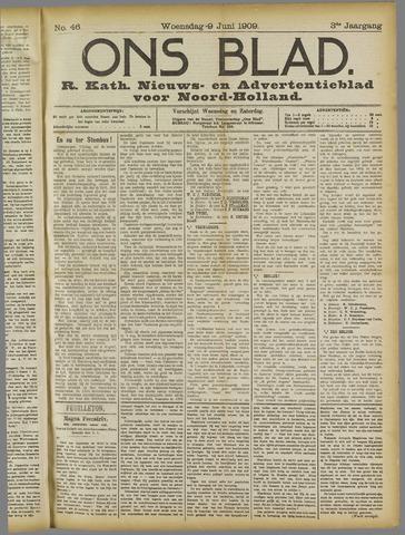Ons Blad : katholiek nieuwsblad voor N-H 1909-06-09