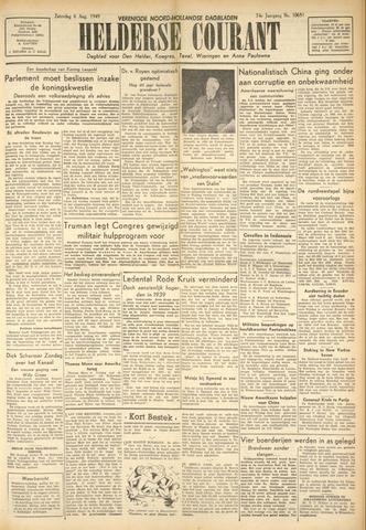 Heldersche Courant 1949-08-06
