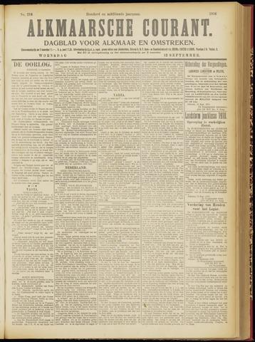 Alkmaarsche Courant 1916-09-13