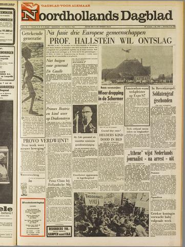 Noordhollands Dagblad : dagblad voor Alkmaar en omgeving 1967-05-08