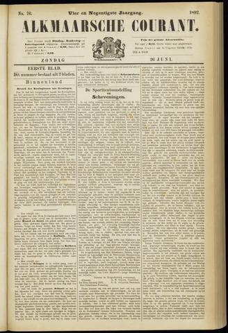 Alkmaarsche Courant 1892-06-26