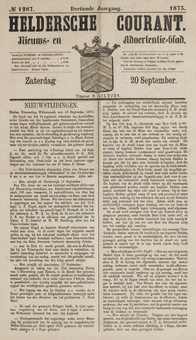 Heldersche Courant 1873-09-20