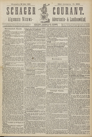 Schager Courant 1920-05-26