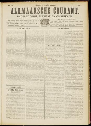 Alkmaarsche Courant 1910-09-29