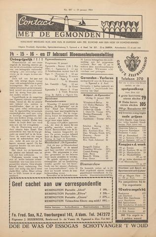 Contact met de Egmonden 1964-01-23