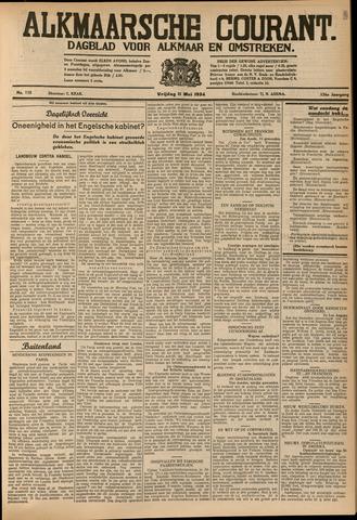 Alkmaarsche Courant 1934-05-11
