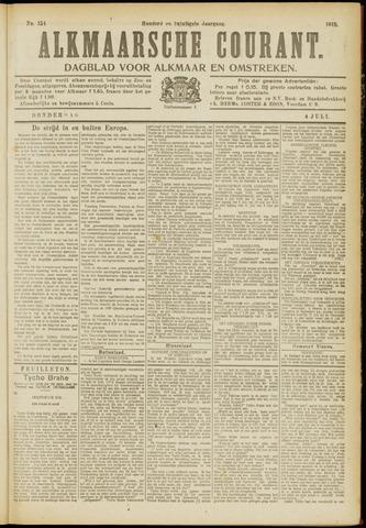 Alkmaarsche Courant 1918-07-04