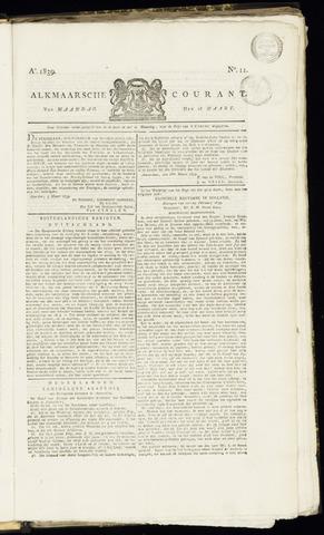 Alkmaarsche Courant 1839-03-18